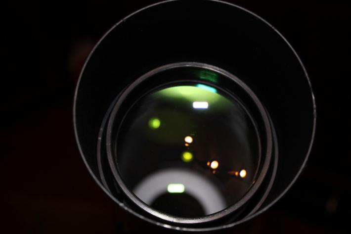 Линза для самодельного телескопа