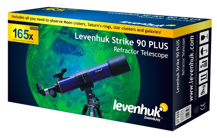 Яркая красочная упаковка Levenhuk  Strike NG