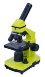 Два микроскопа в одном. Улучшенная комплектация NG. Цвет: лайм